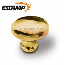 Pomolino oro lucido 25 x 17 mm