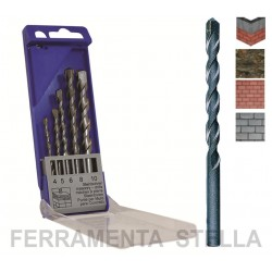 SET ASSORTIMENTO 5 PUNTE MURO SUPER