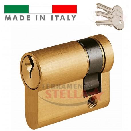 Mezzo cilindro made in italy a infilare sagomato tipo yale for Estrarre chiave rotta da cilindro