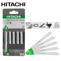 LAME PER SEGHETTO ALTERNATIVO x LEGNO 100 x 7,5 HITACHI TIPO T111C BOSCH