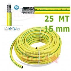 TUBO POMPA IRRIGAZIONE GIARDINAGGIO 15 mm 25 mt. 5 STRATI