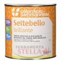 SETTEBELLO SMALTO SINTETICO x FERRO LEGNO ECC. - ALLUMINIO 300° - 0.75 LT - RESISTENTE ALTE TEMPERATURE
