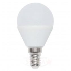 LED LAMPADINA E/14 E14 A SFERA A PALLINA - WATT 5 - LUCE FREDDA