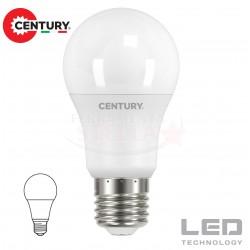 LAMPADINA LAMPADA LED RISPARMIO ENERGETICO - modello GOCCIA - 9 W - luce CALDA - attacco E 27