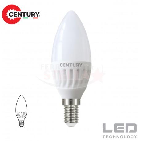 LAMPADINA LAMPADA LED RISPARMIO ENERGETICO - modello SFERA - 8 W - luce FREDDA - attacco E 14