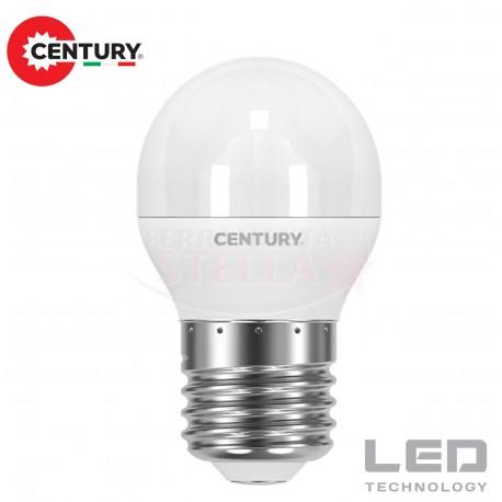 LAMPADINA LAMPADA LED RISPARMIO ENERGETICO - modello SFERA - 6 W - luce CALDA - attacco E 14
