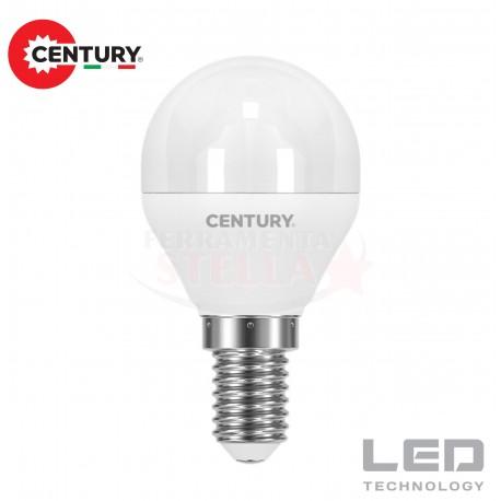 LAMPADINA LAMPADA LED RISPARMIO ENERGETICO - modello SFERA - 6 W - luce CALDA - attacco E 27