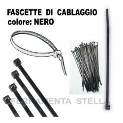 FASCETTA FASCETTE DA CABLAGGIO ELETTRICISTA LEGATURA - NERO - MISURA 4,8 X 250 - CF 100 PZ