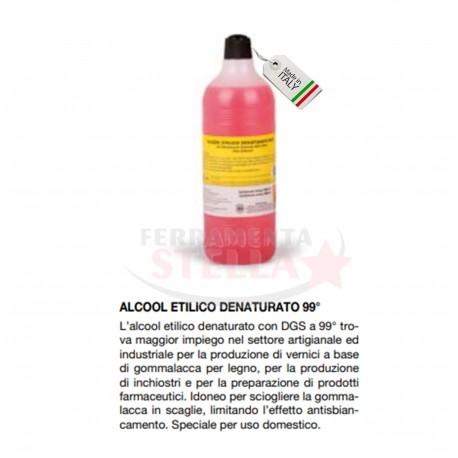 ALCOOL 99,9° - ETILICO DENATURATO -  PER RESTAURATORI RESTAURO PULIZIA