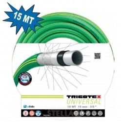 TUBO POMPA IRRIGAZIONE GIARDINAGGIO 15 mm 25 mt. 5 STRATI - SUPER GARDEN - MADE IN ITALY