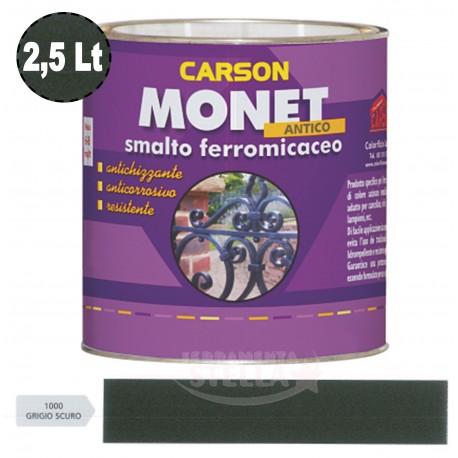 SMALTO CON ANTIRUGGINE FERRO MICACEO ANTICA GRANA GROSSA - FERROMICACEO - 2,5 LT