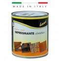 IMPREGNANTE A SOLVENTE PER LEGNO - INTERNI ed ESTERNI - colore TRASPARENTE - CONFEZIONE DA  ML 750