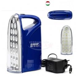 LAMPADA DI EMERGENZA PORTATILE IR312 A 21 LED MM 50 x 93 H. MM 190 RICARICABILE ANTI BLACK-OUT