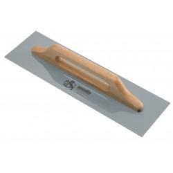 Frattazzo per stucco 48X14 lama acciaio manico leg