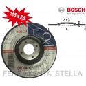 MOLA DISCO TAGLIO SBAVO 115 X 2,5 X 22 MM FERRO METALLO SMERIGLIATRICE - BOSCH