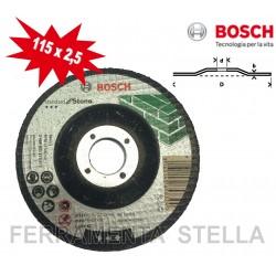 MOLA DISCO TAGLIO BOSCH 115 x 1 x 22 MM INOX METALLO SMERIGLIATRICE FLEX SOTTILE