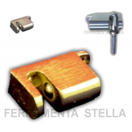 Pinza ferma blocca porta oro cromo fermaporta ferramentastella - Blocca porte e finestre ...