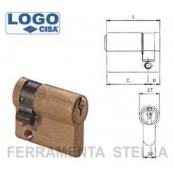 Logo cisa mezzo cilindro