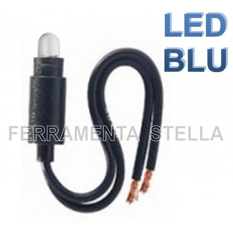 Interruttore Per Lampada.Lampada Lampadina Led Interruttore Unipolare Life Tipo Bticino Living Ticino Blu