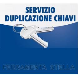 SERVIZIO DI DUPLICAZIONE CHIAVE - TIPOLOGIA CHIAVE DOPPIA MAPPA PICCOLA MAPPATURA