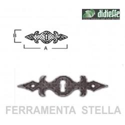 Bocchetta ferro battuto serie Tirolo Art. 439