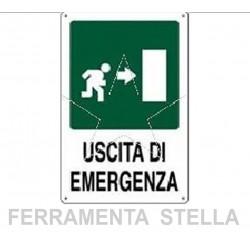 Uscita di emergenza dx