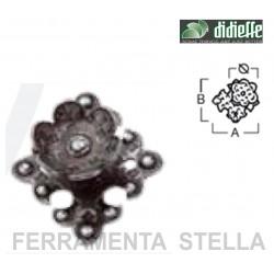 POMOLINO POMOLO POMELLO SERIE TIROLO ART. 342 PER MOBILE - ARTE POVERA - FERRO BATTUTO