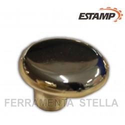 Pomolino oro lucido 37 x 30 mm