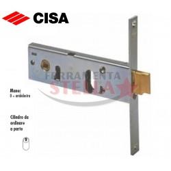 SERRATURA CISA 44150 A INFILARE A FASCIA x ALLUMINIO ANTA