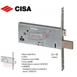 SERRATURA INFILARE CHIAVE DOPPIA MAPPA 4 MANDATE SCROCCO CISA MODELLO 57353.90