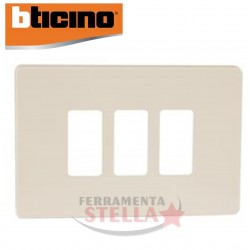 PLACCA MAGIC RESINA BIANCO PANNA 3 POSTI