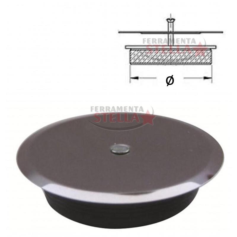 Tappo ad espansione 120 mm pozzetto pavimento bagno cassetta scarico tubo acqua - Scatola sifonata bagno ...