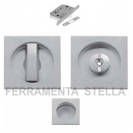 Kit maniglia porte scorrevoli porta scrigno con serratura - Porte scorrevoli per bagno ...
