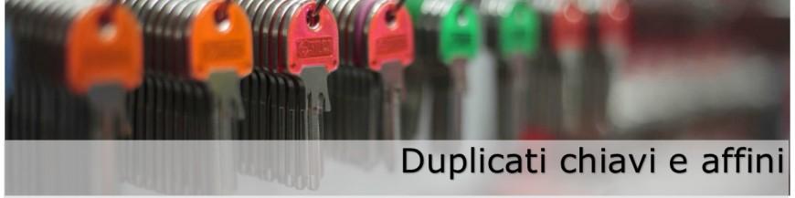 Duplicati chiavi e affini